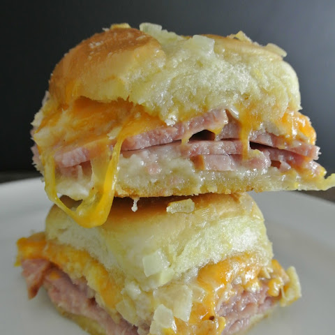 Ham And Turkey Cheddar Melt Rolls