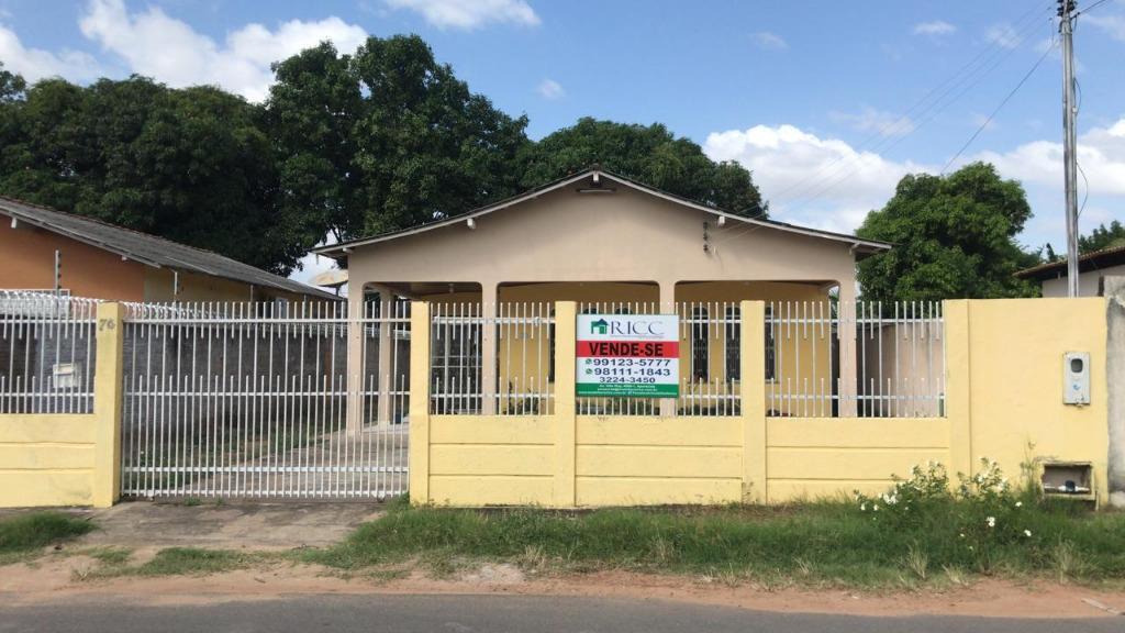 Casa com 2 dormitórios à venda, 156 m² por R$ 280.000,00 - Liberdade - Boa Vista/RR