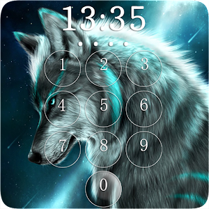 Wolf Lock Screen For PC