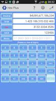 Screenshot of Hex Converter Plus