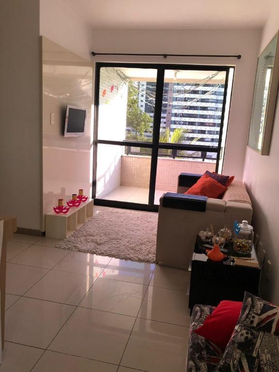 Apartamento com 2 dormitórios, varanda, 79 m² por R$ 2.950/mês - Caminho das Árvores - Salvador/BA