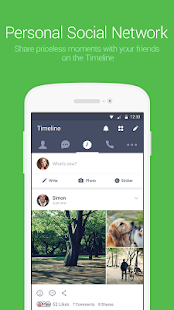 Free LINE: Free Calls & Messages APK for Windows 8