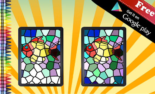 Adult Coloring Book Mosaic- screenshot thumbnail