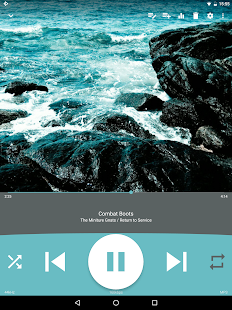 Audio Player : Rocket Player Screenshot