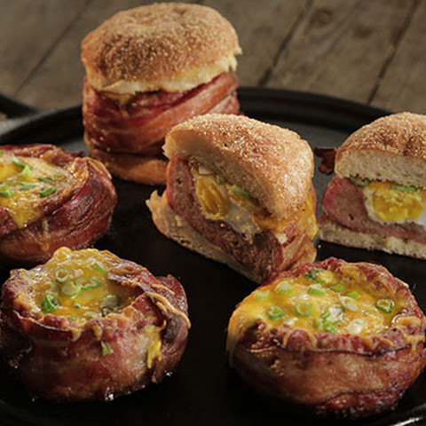 Beer-Can Breakfast Burgers