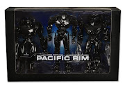 "Фигурка ""Pacific Rim 7"" SDCC 2014 - Gypsy, Striker, Typhoon 3pc Box Set"