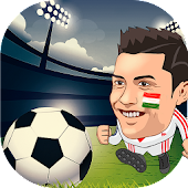 Head Soccer Euro Football League APK for Bluestacks