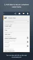 Screenshot of Personal Cloud & Data Vault