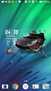 3D Widget for City Car Driving - screenshot