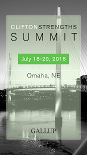 CliftonStrengths Summit - screenshot