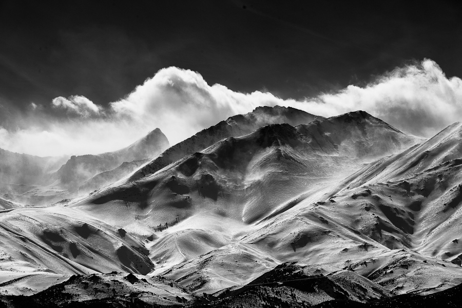 by Gerald Fleury - Landscapes Mountains & Hills ( black and white, black and white collection )