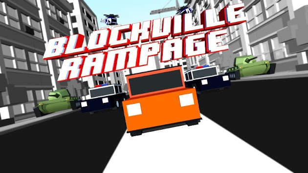 Blockville Rampage - Smashy Police Chase (Unreleased) apk screenshot