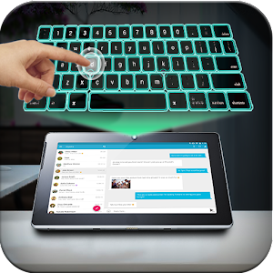 Virtual Keyboard Simulator