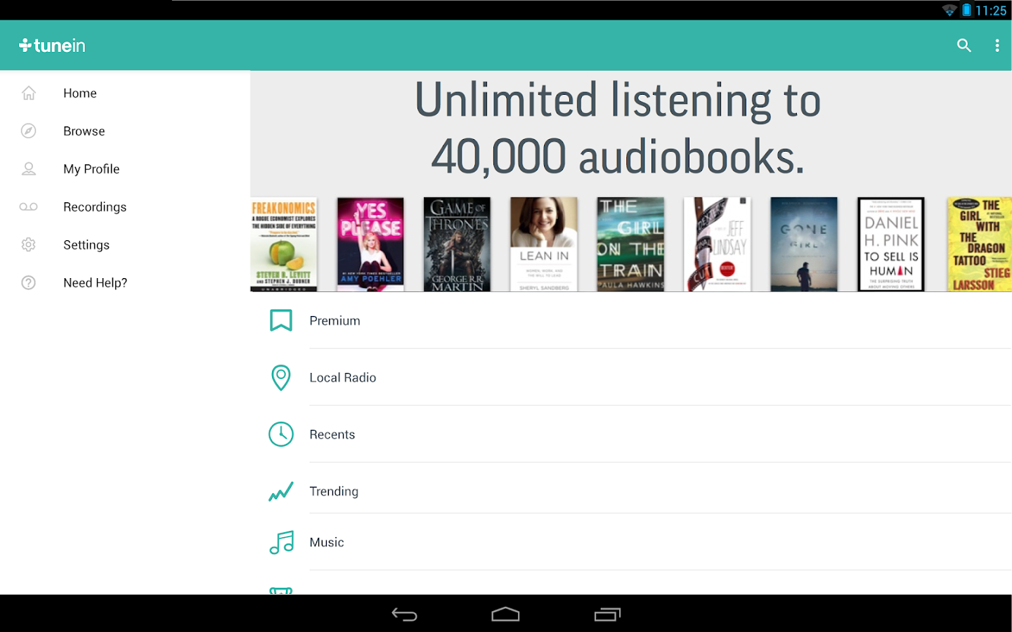 TuneIn Radio Pro - Live Radio Screenshot 8