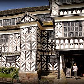 Little Moreton Hall by Caroline Beaumont - Buildings & Architecture Public & Historical ( little moreton hall )