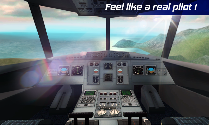 Real Pilot Flight Simulator 3D Screenshot 1