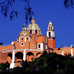 Cholula by Cristobal Garciaferro Rubio - Buildings & Architecture Public & Historical ( cholula, church, mexico, puebla )