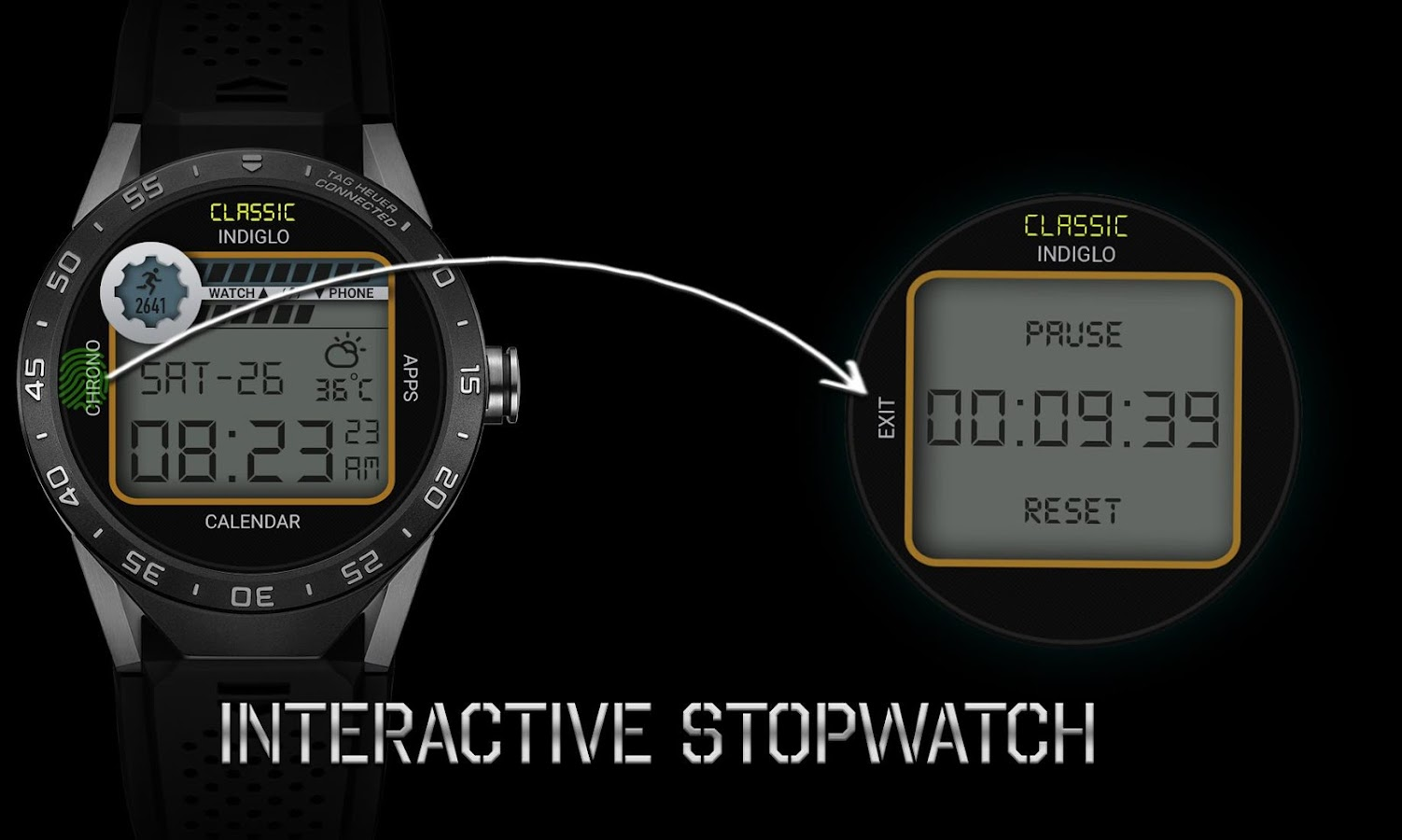 Retro Interactive Watch Face Screenshot 9