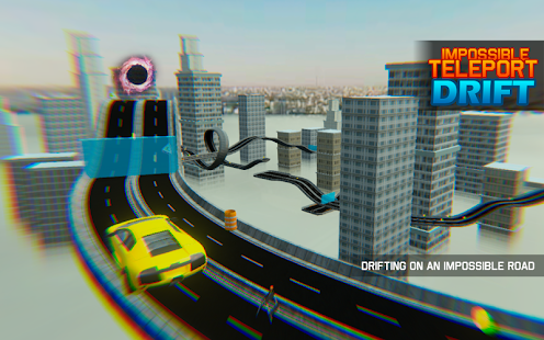 Impossible Teleport Sport Car Drift APK baixar