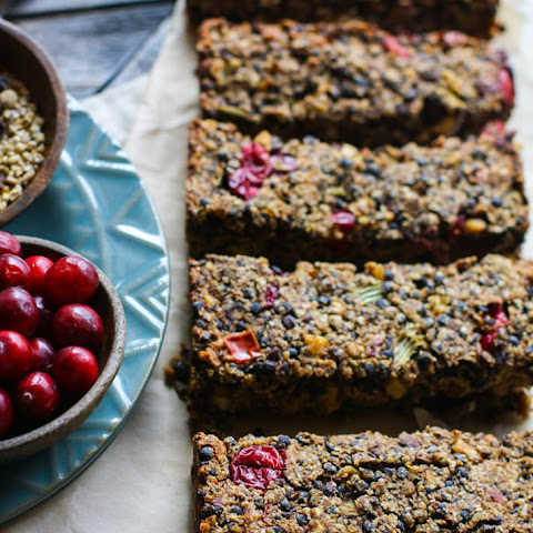 Gluten Free Cranberry Maple Lentil Loaf {Vegan}