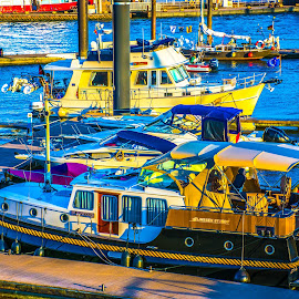 Anchored by Hariharan Venkatakrishnan - Transportation Boats