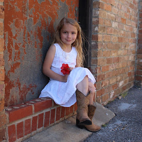 Cowgirl in the City2 by Sarah Douglas - Babies & Children Child Portraits (  )