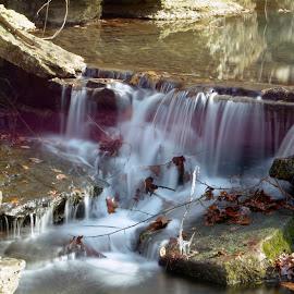 Little watefall by Jason Jeep Rutter - Landscapes Waterscapes ( waterfall )