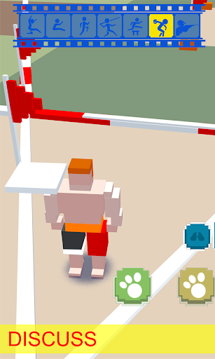 Blocky Athletics sports craft - screenshot