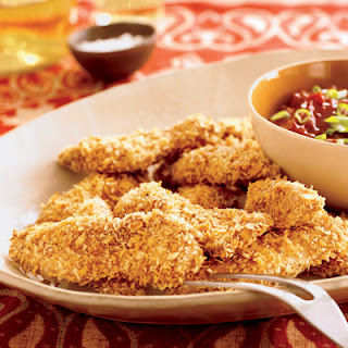 Oven-Fried Chicken Tenders with Five-Spice BBQ Sauce