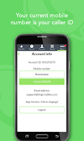 Screenshot of RingCredible – Cheap Calls