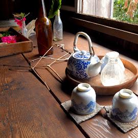 Kona home by Gabriela Zandomeni - Artistic Objects Cups, Plates & Utensils ( japanese coffee )