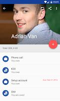 Screenshot of IOU - debt manager