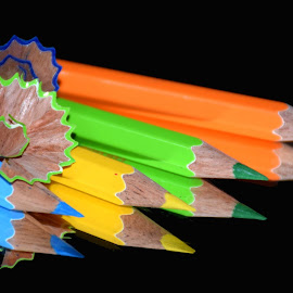 pencils 10 by SANGEETA MENA  - Artistic Objects Other Objects