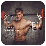 weightlifting weather widget APK Image