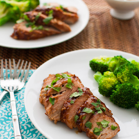 Pork Tenderloin with Hoisin Sauce Glaze