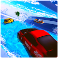 Water Surfing Car - Waterpark Stunts APK