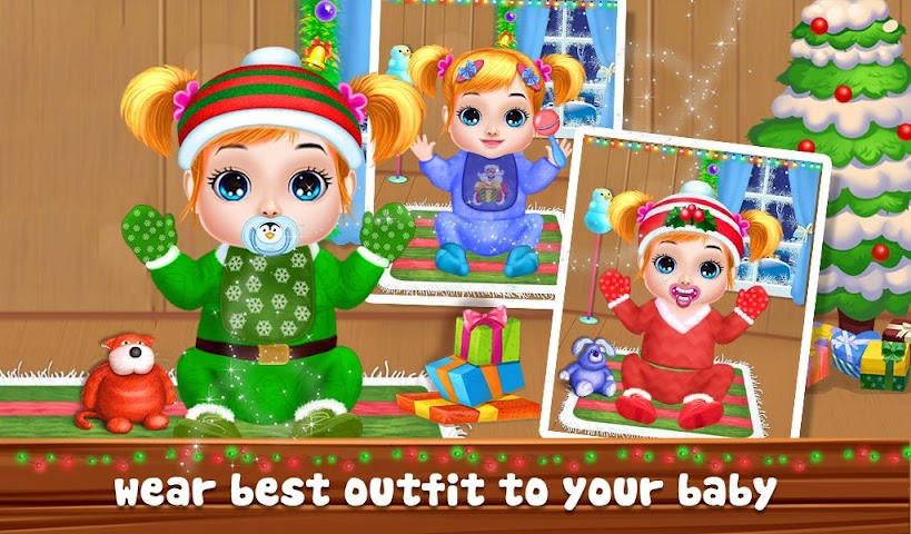 android Christmas Baby Care And Bath Screenshot 2
