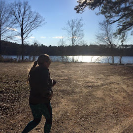 February in Arkansas.  by Karen Karen - Sports & Fitness Running