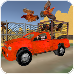 Download Chicken Delivery Mini Truck Driver for PC