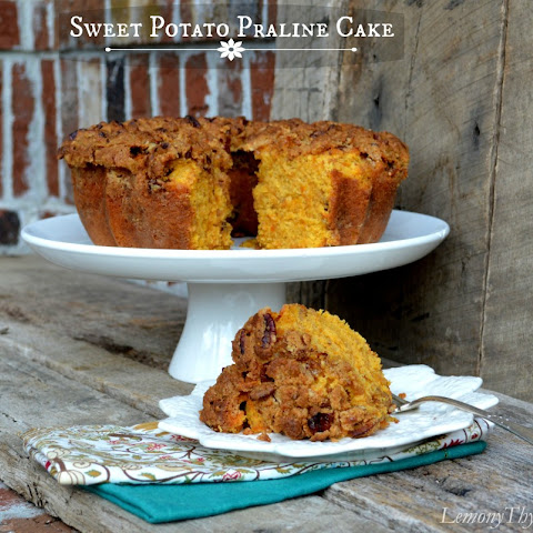 Sweet Potato Praline Cake {Share the Love}