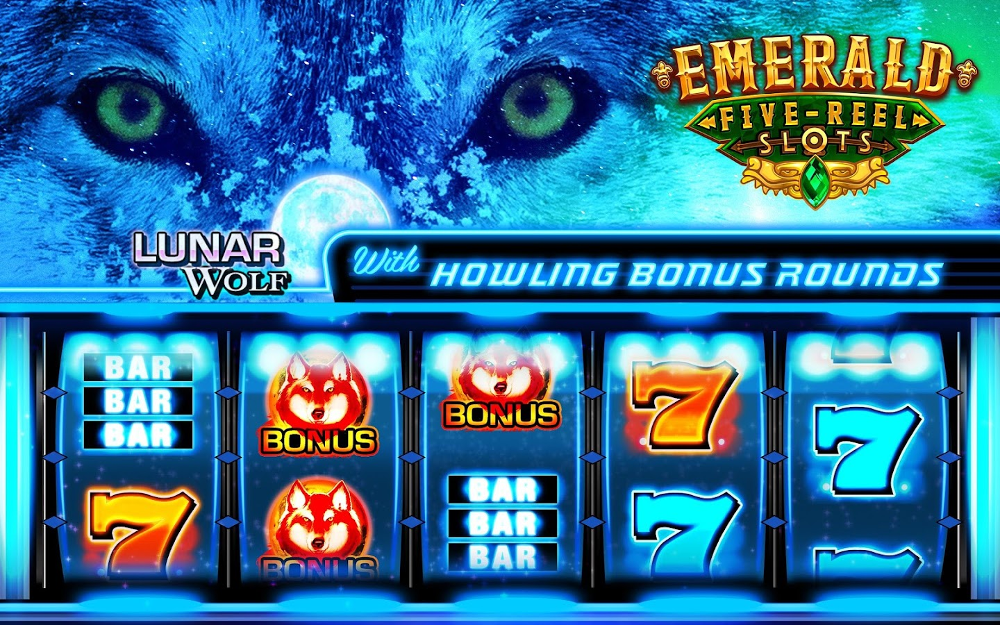 Emerald 5-Reel Free Slots Screenshot 5