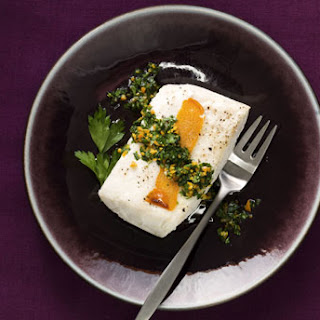 Halibut with Clementine Gremolata