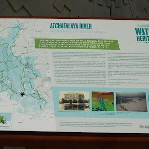 Atchafalaya River - Morgan City Great Wall