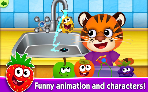 Funny Food Games For Toddlers! APK screenshot thumbnail 16