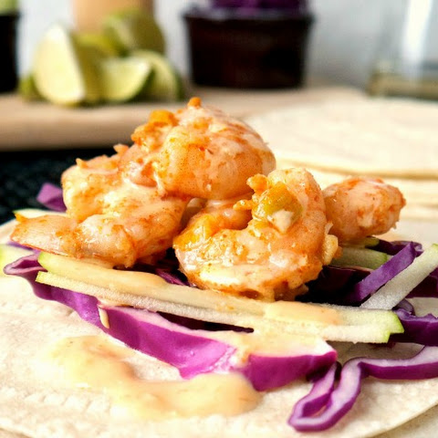 Pan-Asian Shrimp Tacos