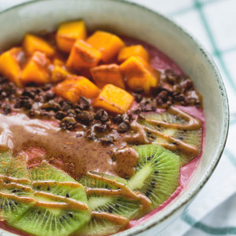 Raw Blackberry Orange Buckwheat Porridge