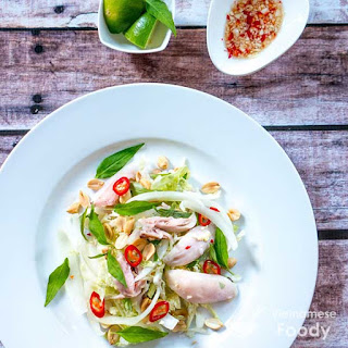 Description Vietnamese Chicken Cabbage Salad (Gỏi Bắp Cải Gà)