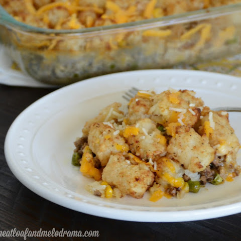 Lightened-Up Tater Tot Casserole