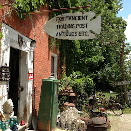 Fort Ancient by Robin Stover - City,  Street & Park  Markets & Shops