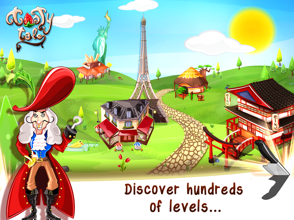 Tasty Tale:puzzle cooking game Screenshot 12